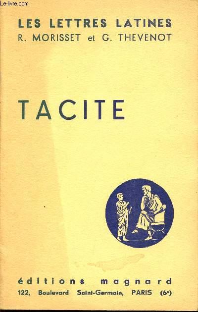 LES LETTRES LATINES / TACITE - CHAPITRE XXXII / CE FASCICULE REPOND AUX PROGRAMMES OFFICIELS DES CLASSES DE PREMIERE.
