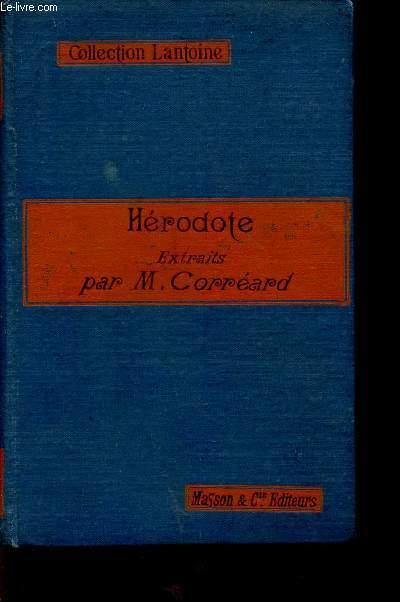 HERODOTE  - EXTRAITS / COLLECTION LANTOINE.