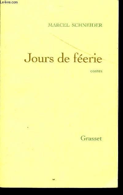 JOURS DE FEERIE / CONTES.