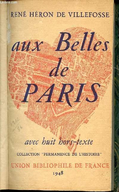 AUX BELLES DE PARIS / COLLECTION