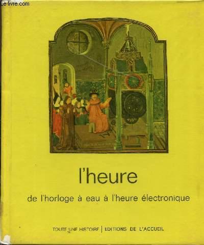 L'HEURE DE L'HORLOGE A EAU A L'EAU ELECTROONIQUE.