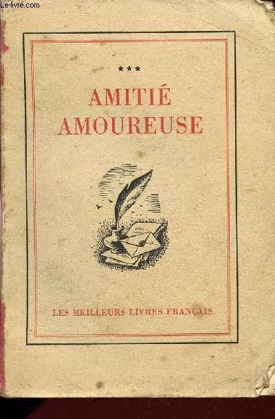 AMITIE AMOUREUSE.