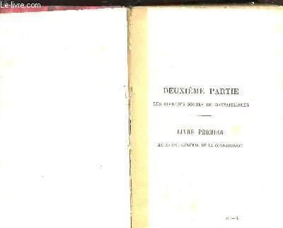 DE L'INTELLIGENCE / TOME SECOND / QUATRIEME EDITION.