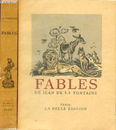FABLES DE JEAN DE LA FONTAINE / TOMES PREMIER ET SECOND - COMPLET.