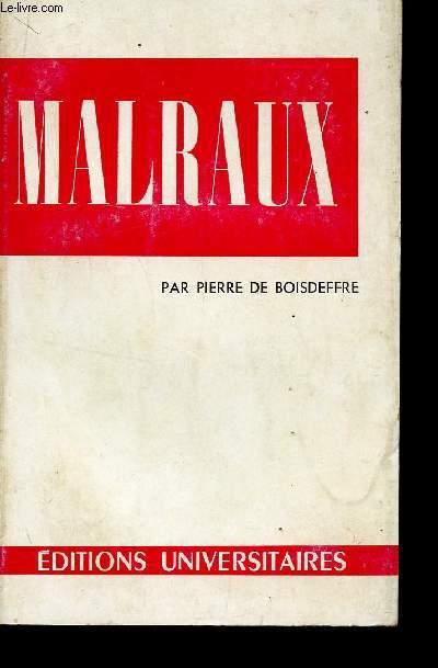 MALRAUX / COLLECTION CLASSIQUES DU XXè SIECLE / 6è TIRAGE.
