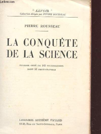 LA CONQUETE DE LA SCIENCE / COLLECTION