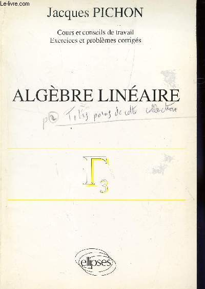 algebre lineaire cours et exercices