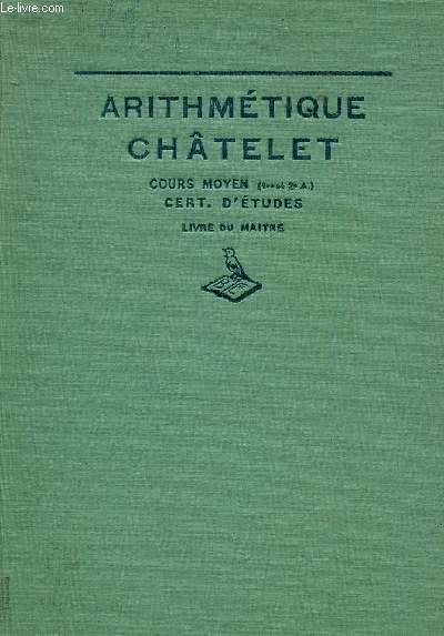ARITHMETIQUE / NUMERATION ET SYSTEME METRIQUE - CALCUL MENTAL ET ECRIT - PROBLEMES - FIGURES GEOMETRIQUES SIMPLES / LIVRE DU MAITRE / COURS MOYEN (1ere ET 2è ANNEES) - CLASES DE 8è ET 7è DES LYCEES ET COLLEGES - CERTIFICAT D'ETUDES PRIAMIRES.