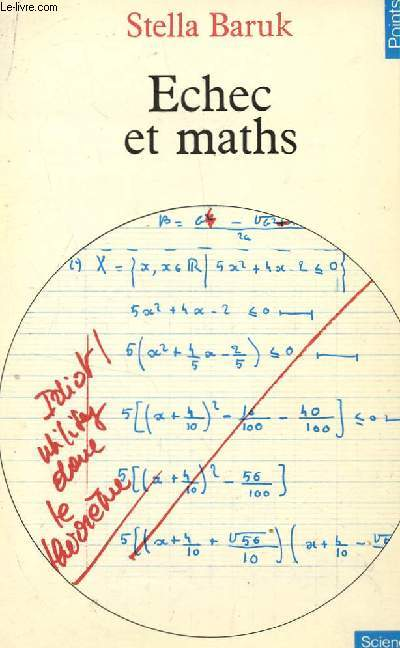 ECHEC ET MATHS / COLLECTION SCIENCES.