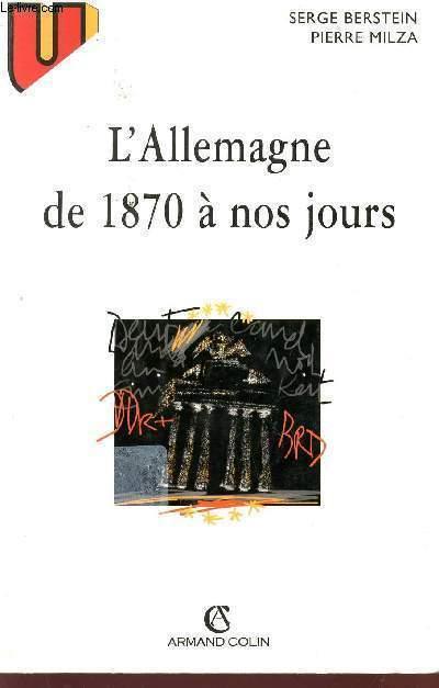L'ALLEMAGNE DE 1870 A NOS JOURS.