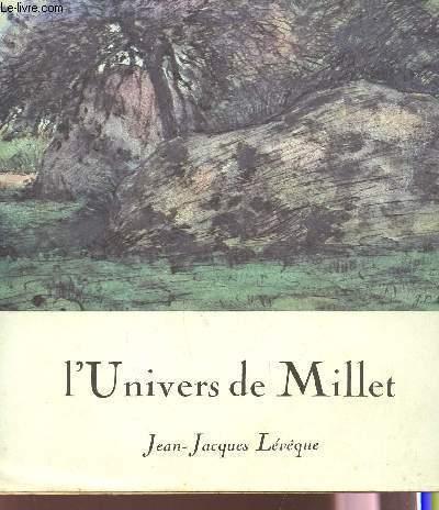L'UNIVERS DE MILLET -  COLLECTION ETABLIE DANS LE  CADRE DU