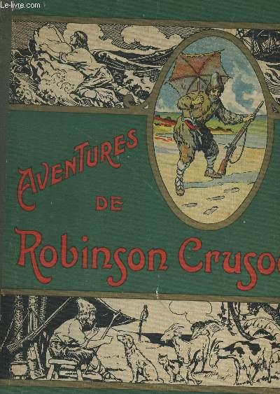 LES AVENTURES DE ROBINSON CRUSOE.