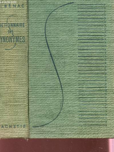 DICTIONNAIRE DES SYNONYMES.