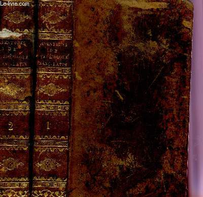 LES AVENTURES DE TELEMAQUE, FILS D'ULYSSE - EN 2 TOMES : TOME PREMIER + TOME SECOND (COMPLET).