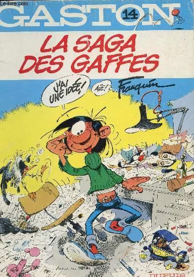 GASTON - LA SAGA DES GAFFES