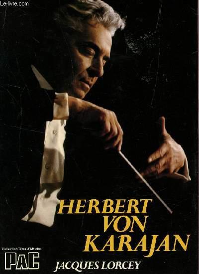 HERBERT VON KARAJAN / COLLECTION TETES D'AFFICHE.
