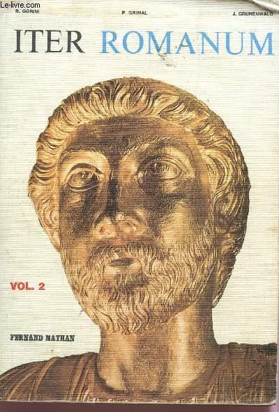 ITER ROMANUM - VOLUME 2.