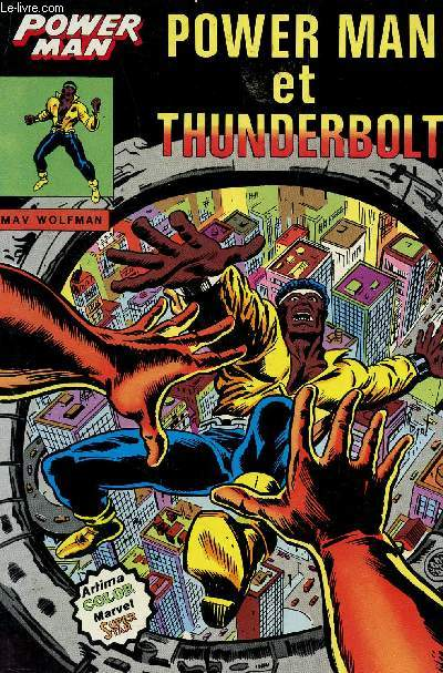 POWER MAN  - POWER MAN ET THUNDERBOLT.