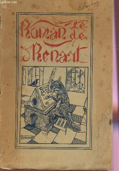 LE ROMAN DE RENART - POEME SATIRIQUE DU MOYEN AGE.