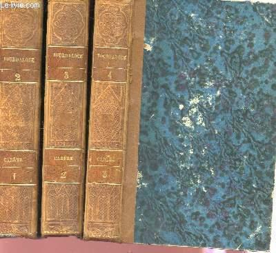 OEUVRES COMPLETES DE BOURDALOUE /EN TROIS VOLUMES :  VOLUMES 2+3+4  - TOMES I+II+III : CAREME.