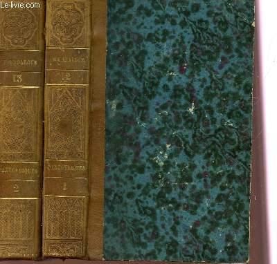 OEUVRES COMPLETES DE BOURDALOUE - EN DEUX VOLUMES : VOLUME 12 ET 13 - TOMES I+II : PANEGYRIQUES.