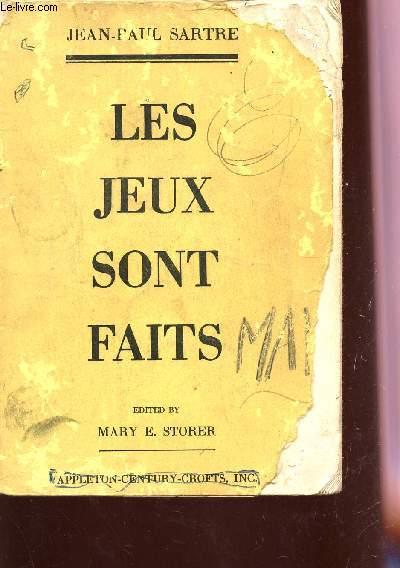 LES JEUX SONT FAITS.