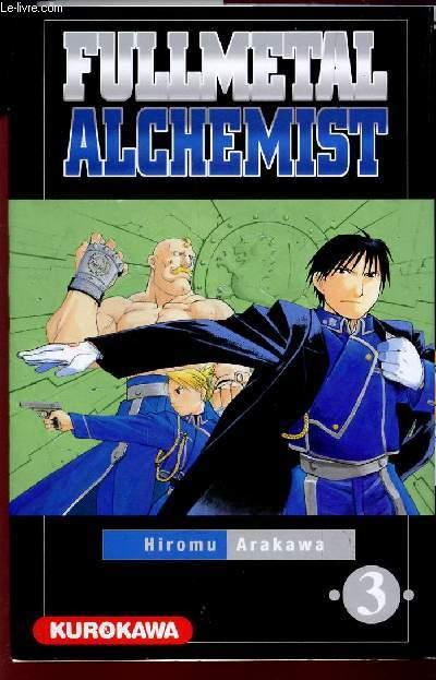 FULLMETAL ALCHIMIST - VOLUME 3.