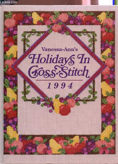 VANESSA ANN'S HOLIDAYS IN CROSS STITCH - 1994.