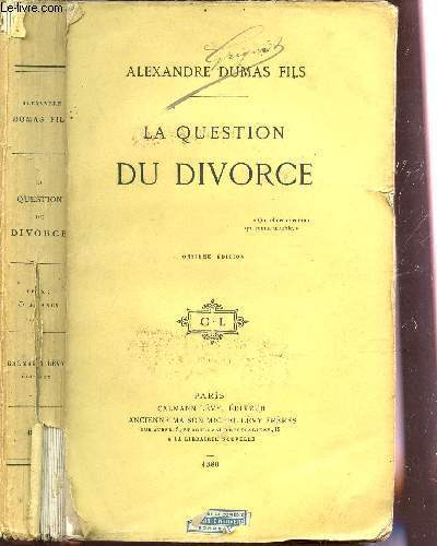 LA QUESTION DU DIVORCE / ONZIEME EDITION.