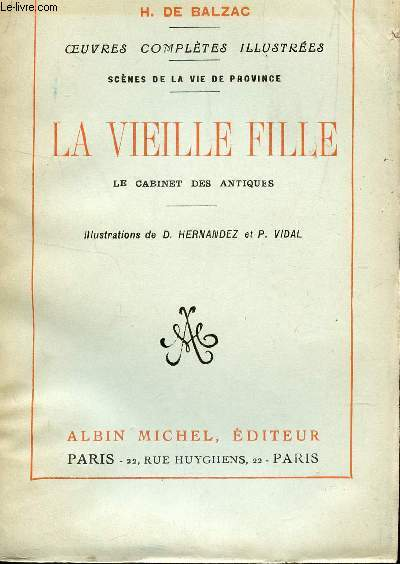 LA VIEILLE FILLE - LE CABINET DES ANTIQUES  / COLLECTION