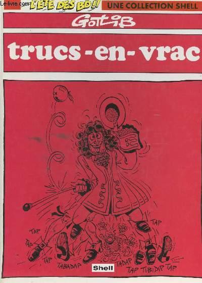TRUCS EN VRAC / L'ETE DES BD, UNE COLLECTION SHELL.