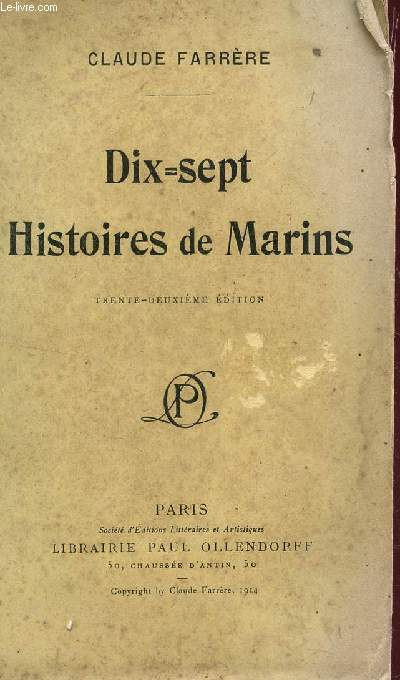 DIX = SEPT HISTOIRESDE MARINS/ 32e EDITION.