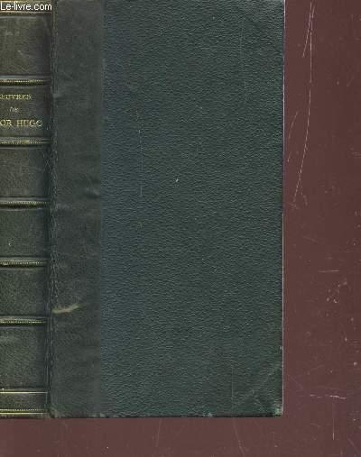 LES CONTEMPLATIONS - TOME I : AUTREFOIS - 1830-1843.