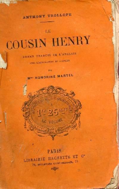 LE COUSIN HENRY - ROMAN ANGLAIS.