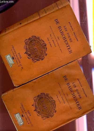 LES TOURS DE BARCHESTER - EN 2 VOLUMES - COMPLET / ROMAN ANGLAIS.