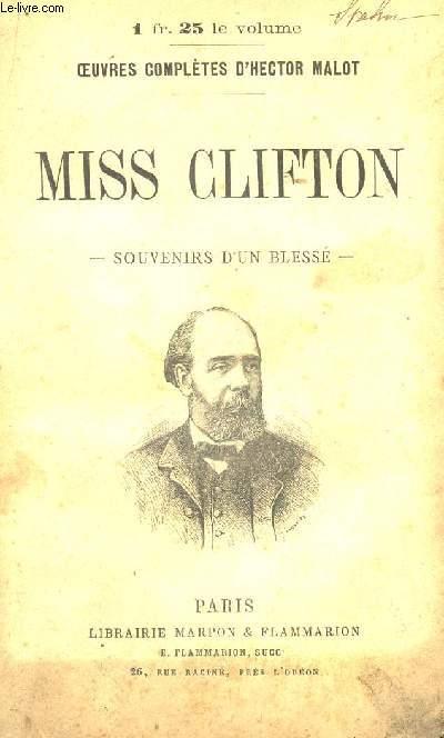MISS CLIFTON.