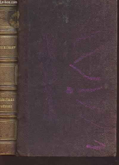 PREMIERES POESIES DE ALFRED DE MUSSET (1829-1835) / NOUVELLE EDITION.