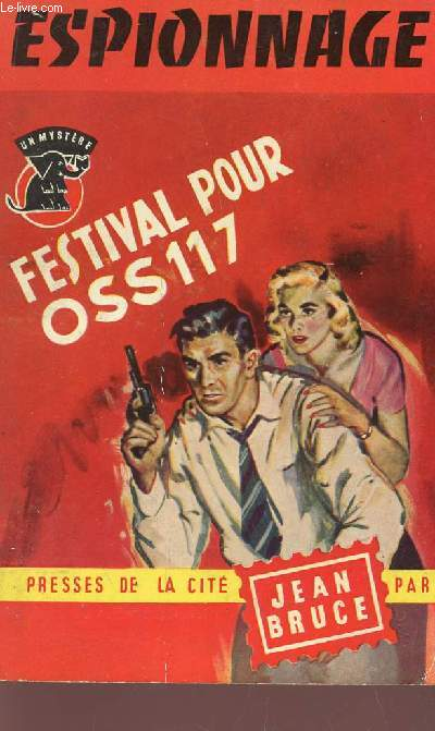 FESTIVAL POUR OSS 117   / COLLECTION MYSTERE.
