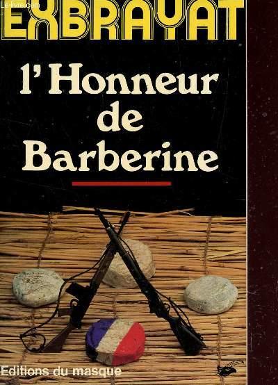 L'HONNEUR DE BARBERINE.