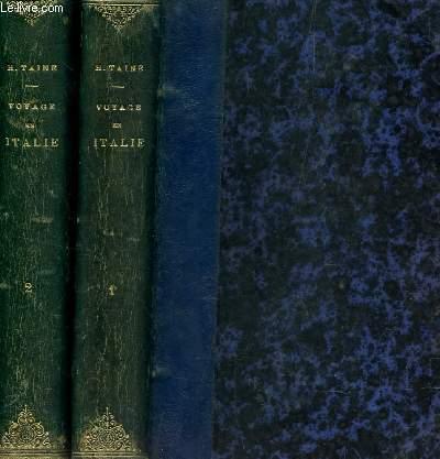 VOYAGE EN ITALIE - EN 2 VOLUMES / TOME I : NAPLES ET ROME + TOME II : FLORENCE ET VENISE / DEUXIEME EDITION.