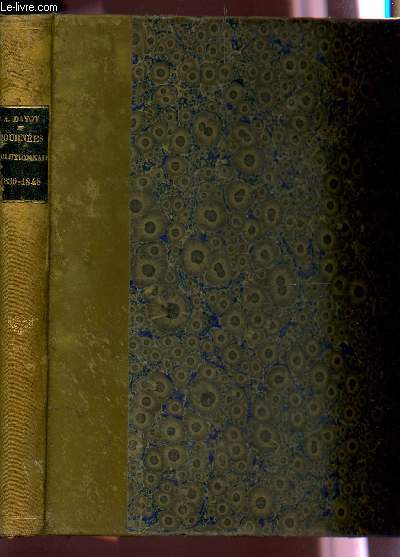 JOURNEES REVOLUTIONNAIRES - 1830-1848 / D'APRES LES PEINTURES, SCULTURES, DESSINS, LITHOGRAPHIES, MEDAILLES, AUTOGRAPHES, OBJETS ... DU TEMPS.