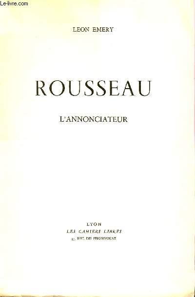 ROIUSSEAU - L'ANNONCIATEUR.