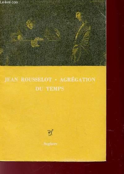 AGREGATION DU TEMPS - SUIVI DE