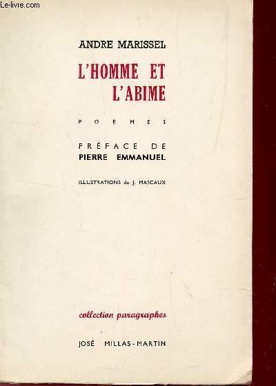 L'HOMME ET L'ABIME / COLLECTION PARAGRAPHES.