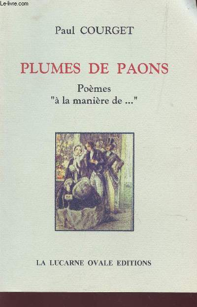 PLUMES DE PAONS - POEMES
