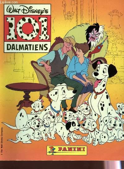 101 DALMATIENS - album a vignettes - incomplet.