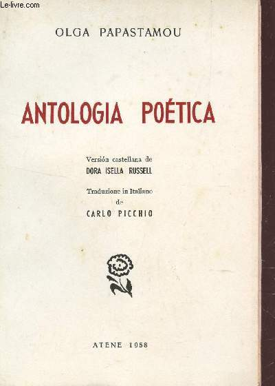 ANTOLOGIA POETICA.
