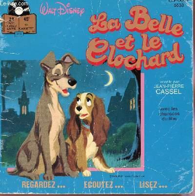 La Belle Et Le Clochard Livre Sans Disque Ou Cassette Audio