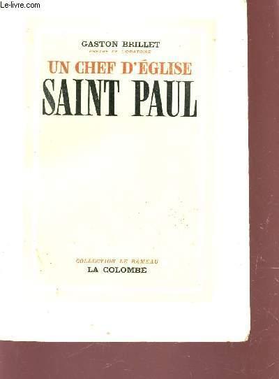 UN CHEF D'EGLISE SAINT PAUL