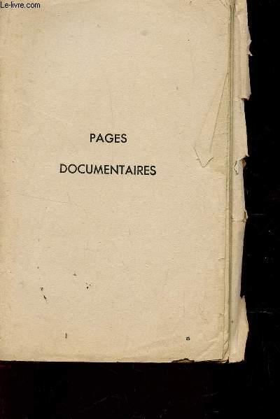 PAGES DOCUMENTAIRES / QUELUES NOTIONS D'HISTOIRE NATURELLE - LA GENERATION HUMAINE - L4UNION DES SEXES - REPONSE A DIVERSES QUESTIONS - DESORDRES VENERIENS ET MALADIES VENERIENNES ETC....